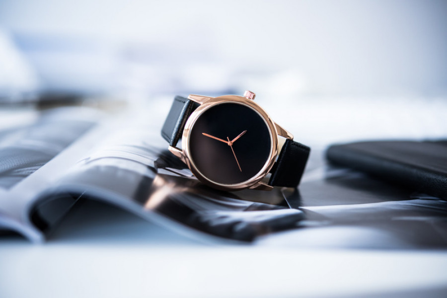 Mens watch photo, product photography