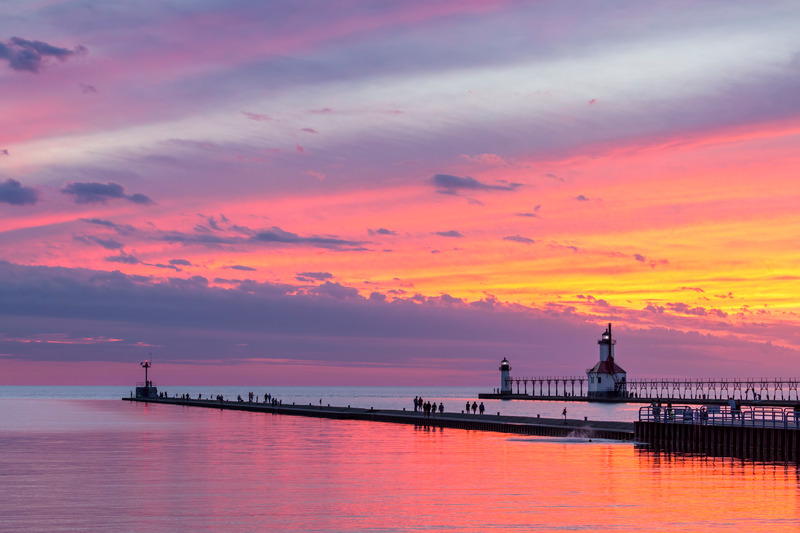 St. Joseph Afterglow, sunset, rule of third
